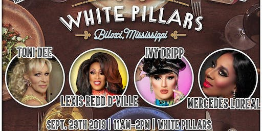 Drag Me to Brunch at the White Pillars