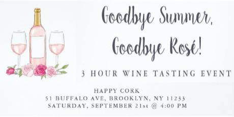INTERACTIVE WINE TASTING & PAIRING @ HAPPY CORK BROOKLYN tickets