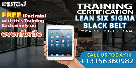 Lean Six Sigma Black Belt Certification Training in Canberra tickets