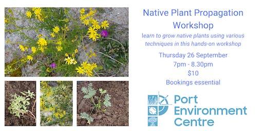 Native Plant Propagation workshop
