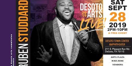 DeSoto Arts Live - Featuring Ruben Studdard tickets