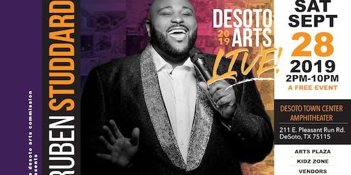 DeSoto Arts Live - Featuring Ruben Studdard