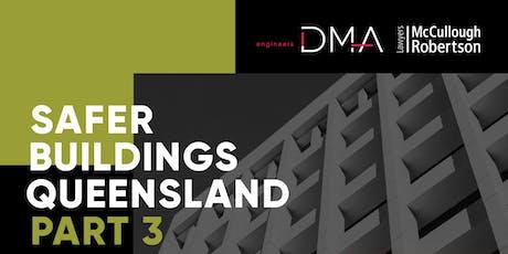 Safer Buildings Queensland Part 3 Industry Breakfast tickets