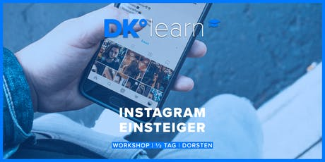 Instagram für Einsteiger Tickets