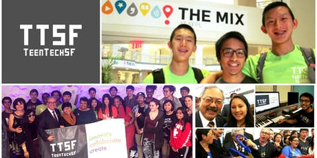2019 TeenTechSF Pre-Hackathon Party @TheMixatSFPL tickets