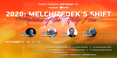2020: Melchizedek's Shift | Release of the Holy Fire tickets