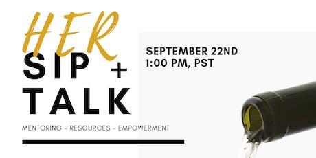 HER Sip & Talk (September) tickets