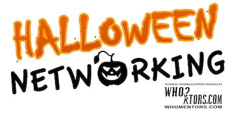 Halloween Networking tickets