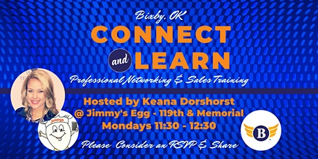 Bixby, OK: Connect & Learn | Professional Networking & Sales Training tickets