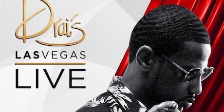 FABOLOUS LIVE - Drais Nightclub - #1 Vegas HipHop Party tickets
