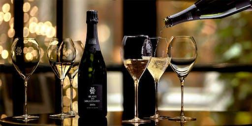 Charles Heidsieck champagne dinner at Shiki