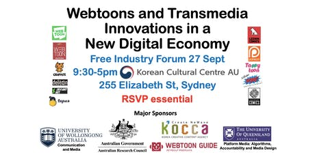 Webtoons and Transmedia Innovations in a New Digital Economy - Sydney Forum tickets