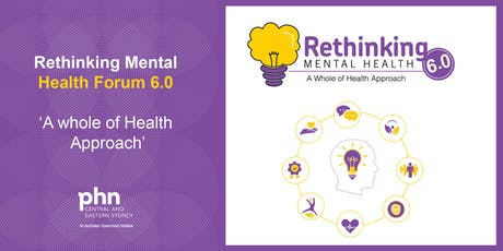 Rethinking Mental Health Forum 6.0 2019 tickets
