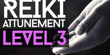 Reiki Level 3 tickets