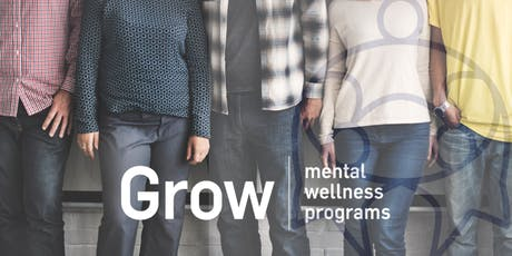 Grow Peer-Support Group - Carlton Night tickets