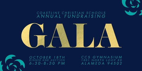 Coastline Christian Schools Annual Gala Dinner tickets