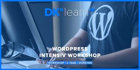 WordPress Intensiv-Workshop Tickets