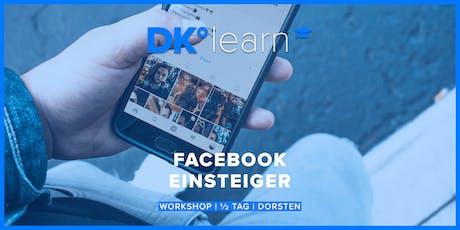 Facebook für Einsteiger Tickets