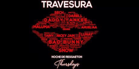 Travesura Thursdays Noche de Reggaeton at Audio tickets