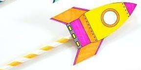 Straw Rocket Launchers @ Wonthaggi Library