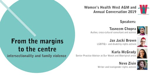 Women's Health West AGM and annual conversation