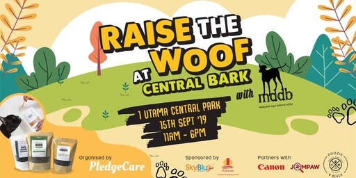 PledgeCare x MDDB: Raise the Woof at Central Bark