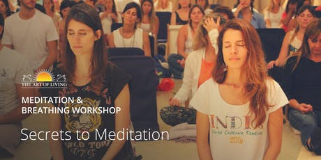 Secrets to Meditation in Dubai: an introduction to the Happiness Program tickets
