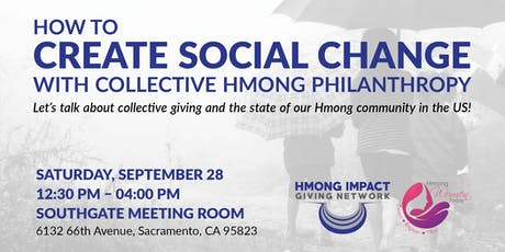 How to Create Social Change with Collective Hmong Philanthropy tickets
