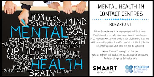 Improving Mental Health In Contact Centres