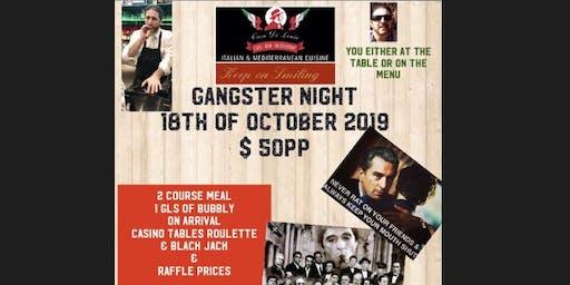 Gangster night at Casa Di Louie