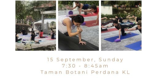 poKOK yoga in the park @ 15 Sep 2019