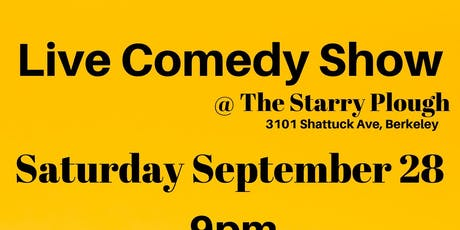 Live Comedy Show @ The Starry Plough Pub tickets