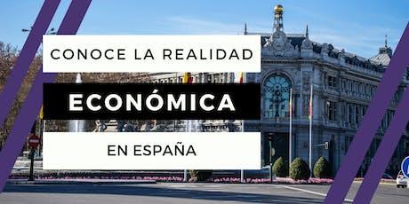 Copia de Conoce la Realidad Económica Española tickets
