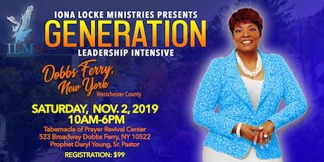 GENERATION Leadership Intensive tickets