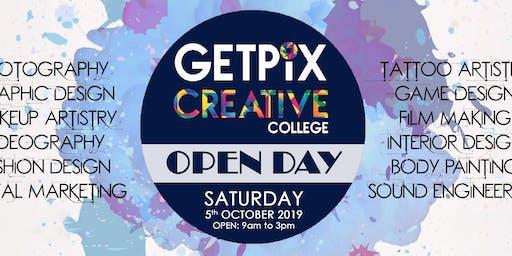 Getpix Creative College Open Day