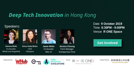 Deep Tech Innovation in Hong Kong tickets
