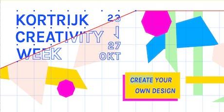 Special Creativity Week CoderDojo Kortrijk - 26/10/2019 billets