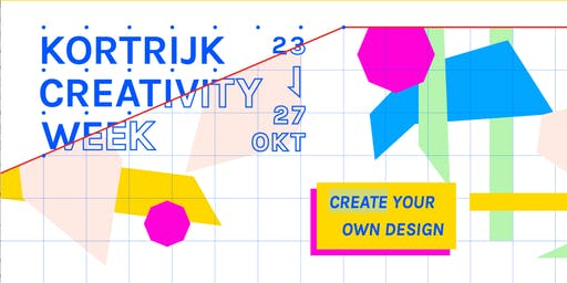 Special Creativity Week CoderDojo Kortrijk - 26/10/2019