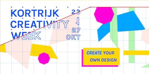 Special Creativity Week CoderDojo Kortrijk - 26/10/2019