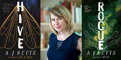 Meet HIVE and ROGUE author AJ Betts