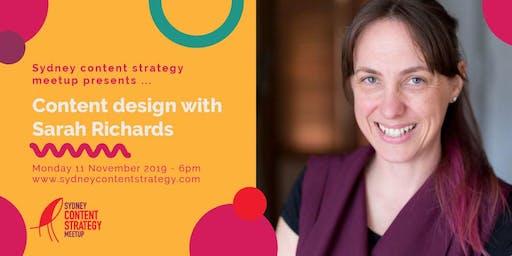 Sydney content strategy meet up - Nov 2019