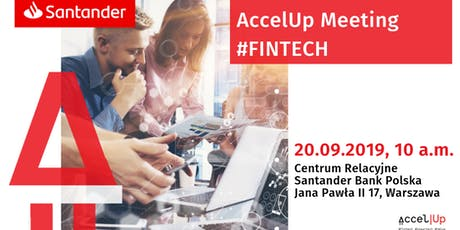 AccelUp meeting #fintech tickets