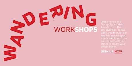 WANDERING WORKSHOP tickets