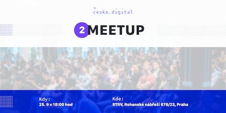 Česko.Digital MEETUP #2 tickets