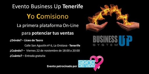 Evento Business Up TENERIFE (noviembre)