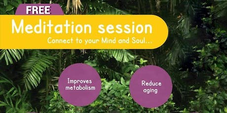 Meditation session- FREE tickets