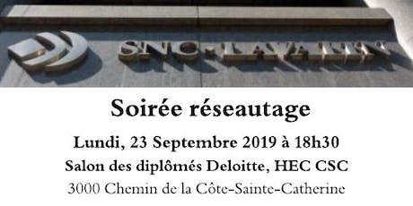 Soirée réseautage SNC-Lavalin billets