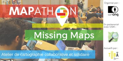 Mapathon Missing Maps à Lyon @LeTubā