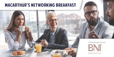 Macarthur's Networking Breakfast