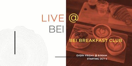 BEI Breakfast Club tickets